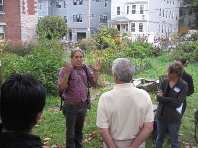 Chuck Collins on the New Economy Walking Tour