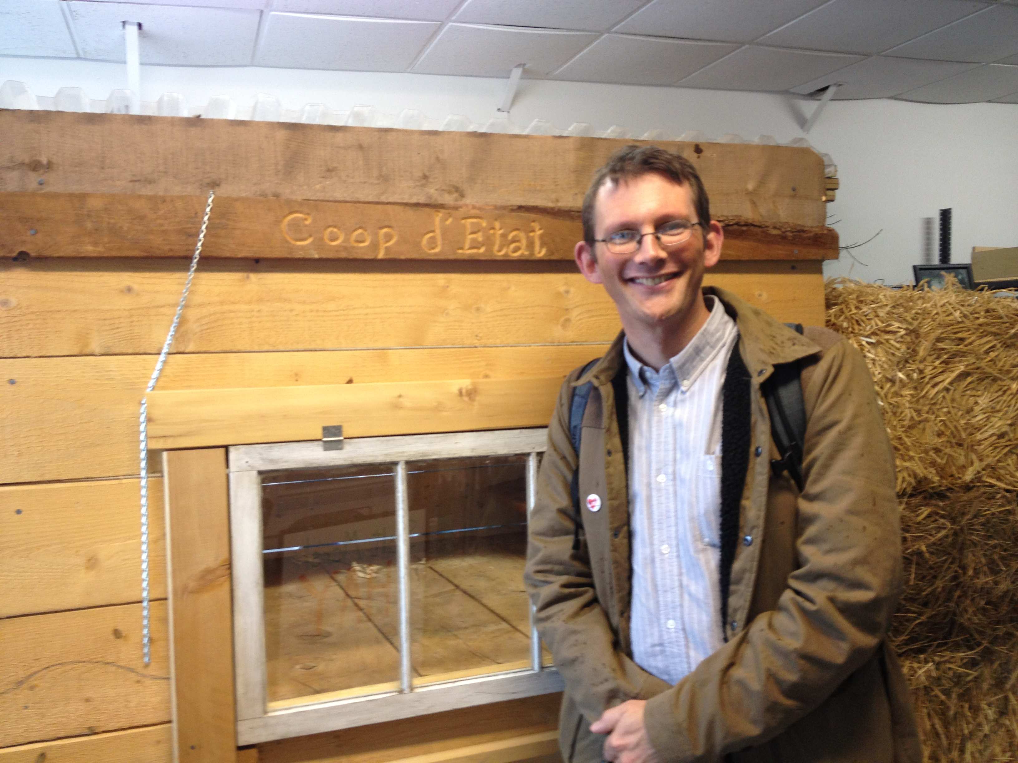 Rob Visits JP's Agricultural Hall
